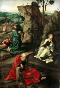 Pieter Coeke van Aelst (c1502-50) - Agony in the Garden, 1527-30