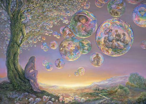 Bubble Tree - Artist Josephine Wall