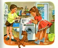 Martine Does the Wash