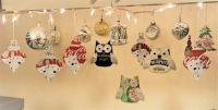 Coca Cola Polar Bear Ornaments....plus owls and more! (3) :-))