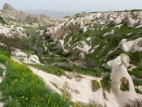 Dove Valley in Cappadocia, Turkey