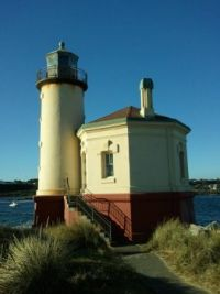 lighthouse at Brandon, OR