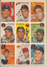 Sports Illustrated, 8/15/54 players 3