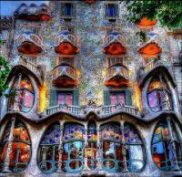 Casa Batllo, Barcelona by Antoni Gaudi