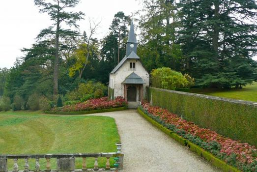 Chapel in grounds of Chateau de Sassy, France