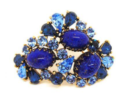 Blue-ti-ful Brooch