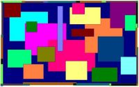 Colored Squares Medium