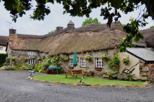 English Thatched Home