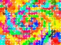 Swirled Confetti - Medium