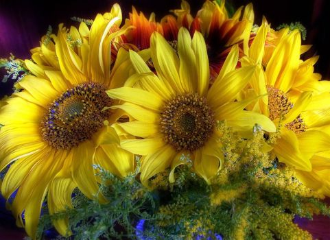 Sunflower Boquet