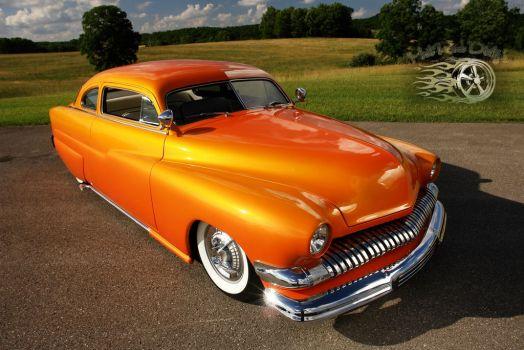 1951 Mercury Chopped Hot Rod