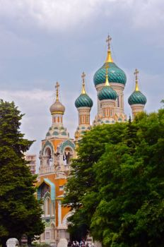 Nice, France: Onion Domes