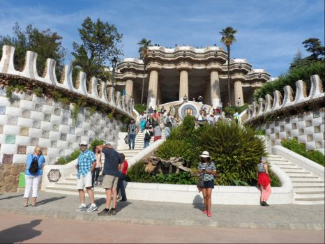 Guell Park, Barcelona 2016