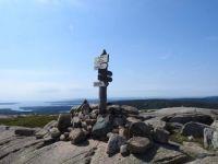 Summit of Bald Peak, Acadia National Park.