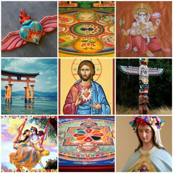 Friday inspiration Religious art by merwing little dear on flickr