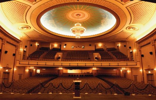 Count Basie Theatre - full interior