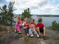 Our Grandchildren on Highrock  2010