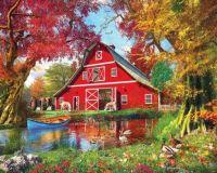 Sunny Barn by Dominic Davison