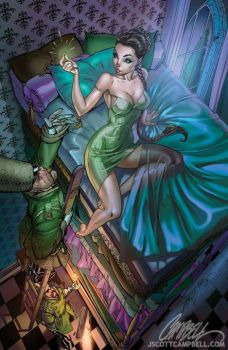 j scott campbell - the princess and the pea