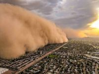 Monster Wall of Dust Rolling Over Phoenix August 2