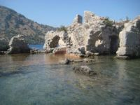 Cleopatra's baths, Turkey