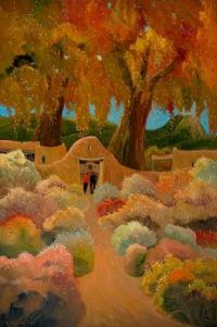Autumn Chamisa of Taos