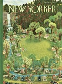 The New Yorker - June 27, 1953 / cover art by Ilonka Karasz