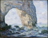 Claude Monet - The Manneporte, 1883 (Mar17P67)
