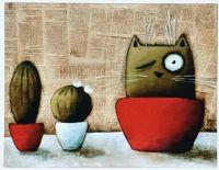 HOW TO GROW A CACTUS CAT...