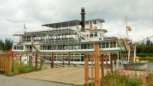 Fairbanks Paddle Wheel