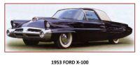 53 FORD X100 - CONCEPT CAR
