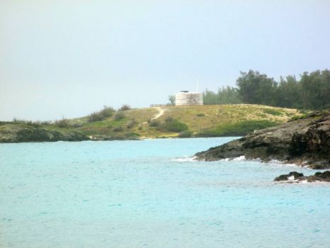 Martello Tower on Coney Island, Bermuda.