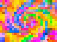 Colorful Squares - Small