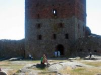 Bornholm castle Hammershus