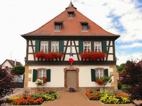 House in Seebach, France