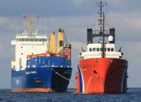 "Tug ""Herakles"" towing ""Industrial Kennedy"", May 2015!!"