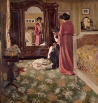 Félix Vallotton (Swiss/French, 1865–1925),  Intérieur (1904)