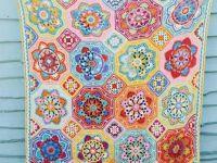eastern jewels crochet blanket