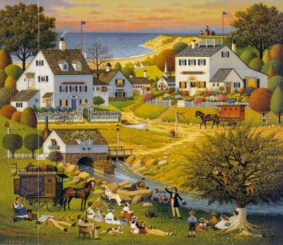 Hound of the Baskervilles by Charles Wysocki