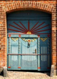 Door in Ribe Denmark