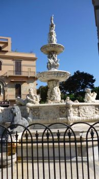 Fountain in Messina Sicily