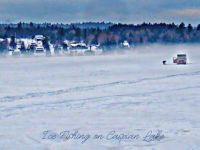 Caspian Lake Ice Fishing