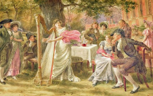 GEORGE GOODWIN KILBURNE R.I.,R.O.I.,R.M.S (1839-1924) -'BEAUTY THE ENCHANTRESS'