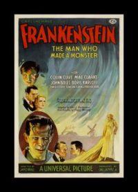 Frankenstein movie poster (1931)