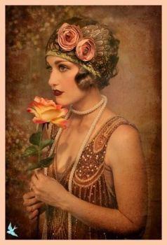1920's Flapper Girl