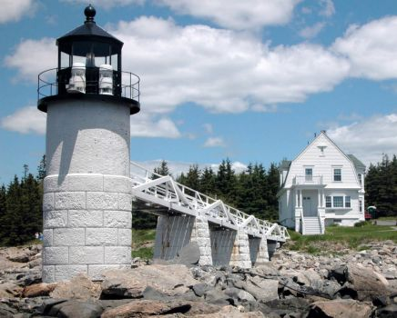 Maine Lighthouses: Marshall Point (Forrest Gump)