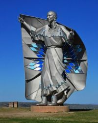 """Dignity"" Statue, South Dakota"
