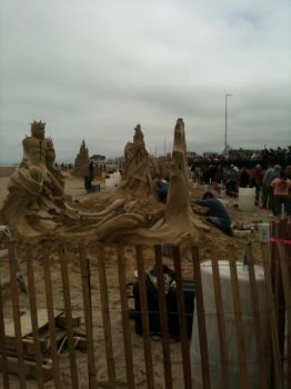 Sandcastles at the Hamptons