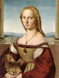 Lady with a Unicorn -Raphael