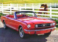 1965 Ford Mustang convertible!  Bandit...